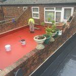 Liquid Roof Installation
